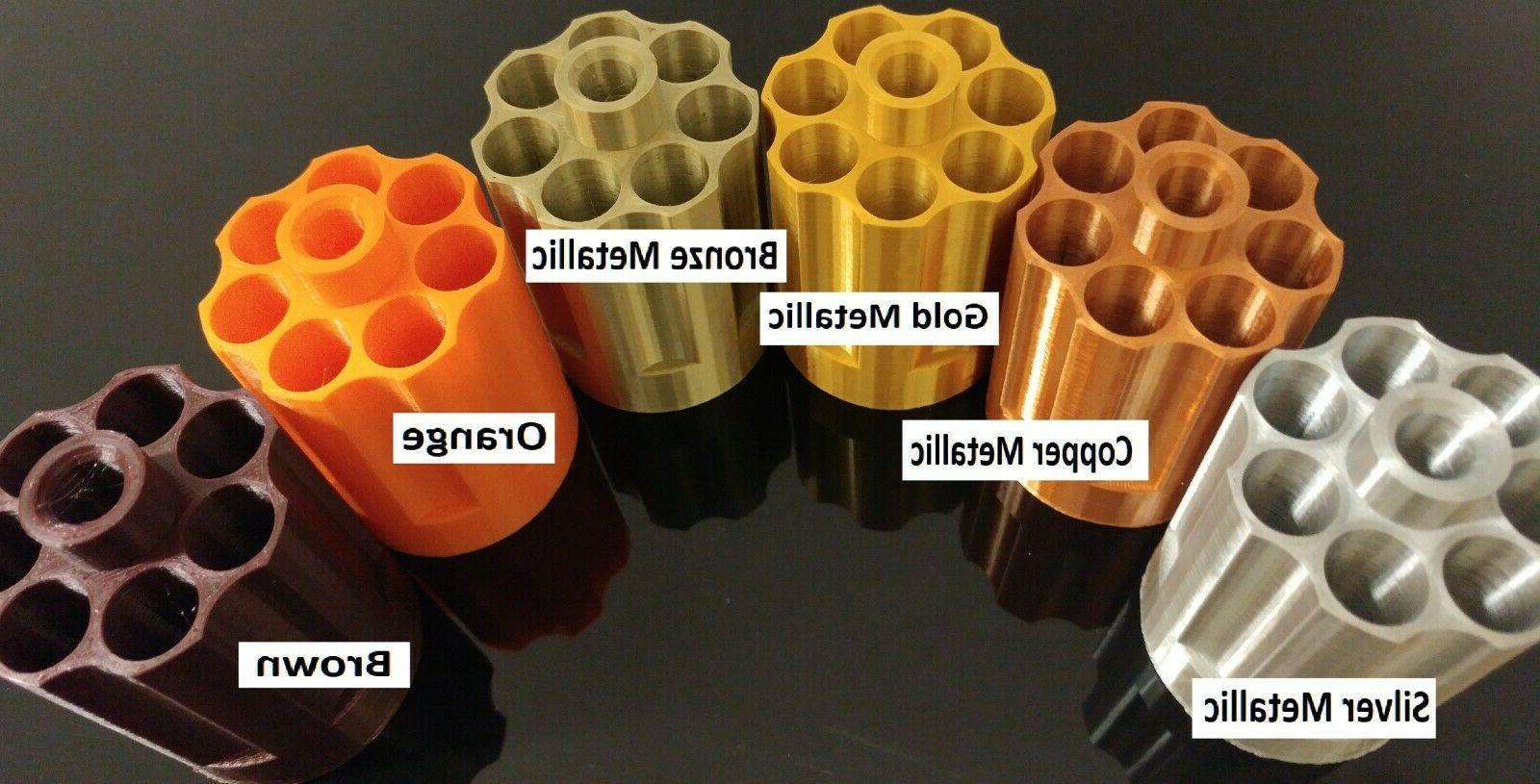 For Nerf Zombie Strike Hammershot Cylinder Print Revolver