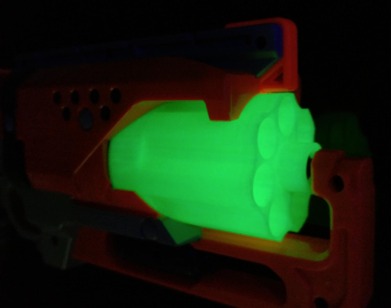 For Zombie Strike Cylinder Print Mod Revolver