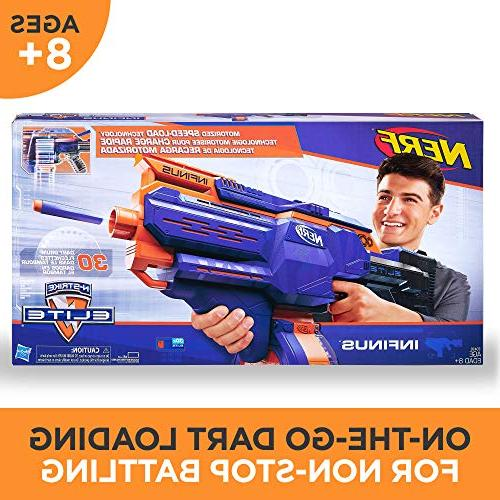 Infinus Toy Speed-Load and Nerf Elite Kids, Teens, and