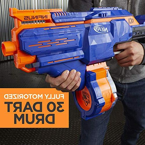 Toy Blaster with Speed-Load Technology, 30-Dart and Teens, and Adults