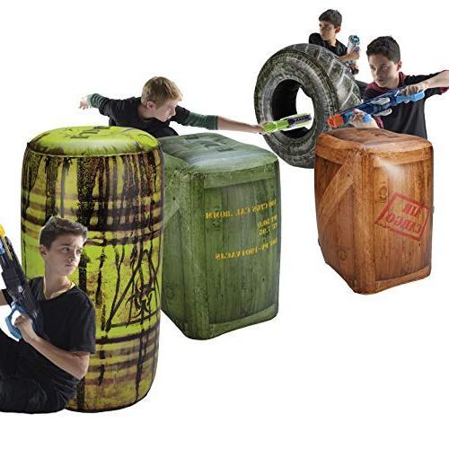 inflatable battlezone battle royale set