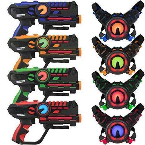 infrared laser tag guns vests