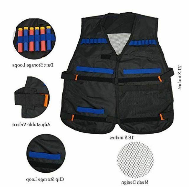 Kids Tactical Vest Kit for N-Strike Series Blaster Guns