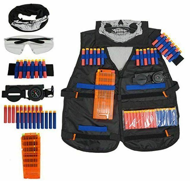 kids elite tactical vest kit for n