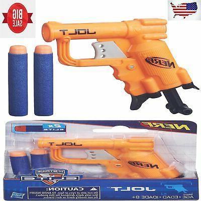 kids gun toy shooter firing darts elite