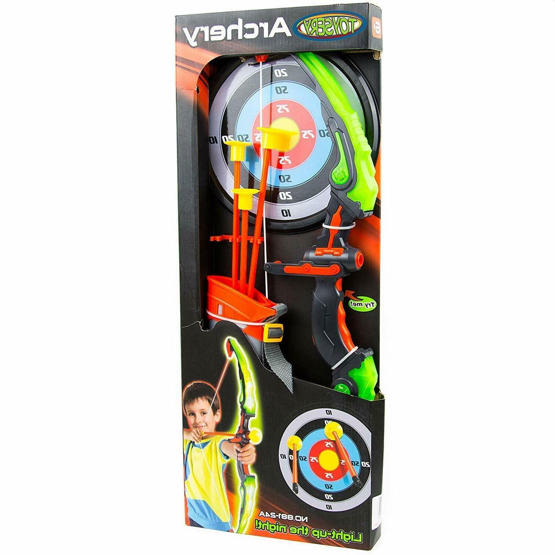 Kids Practice Toys Archery Set Nerf Gun Arrow Gifts