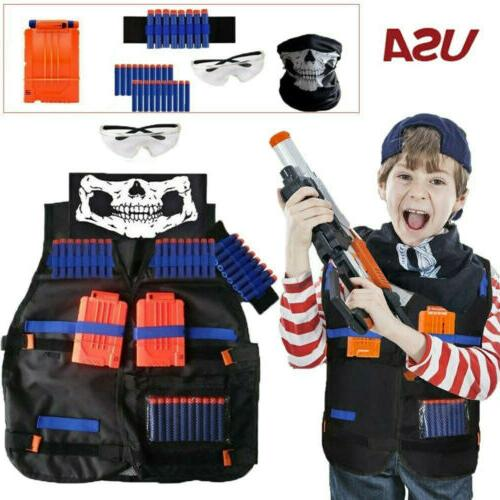 all in one nerf tactical vest kit