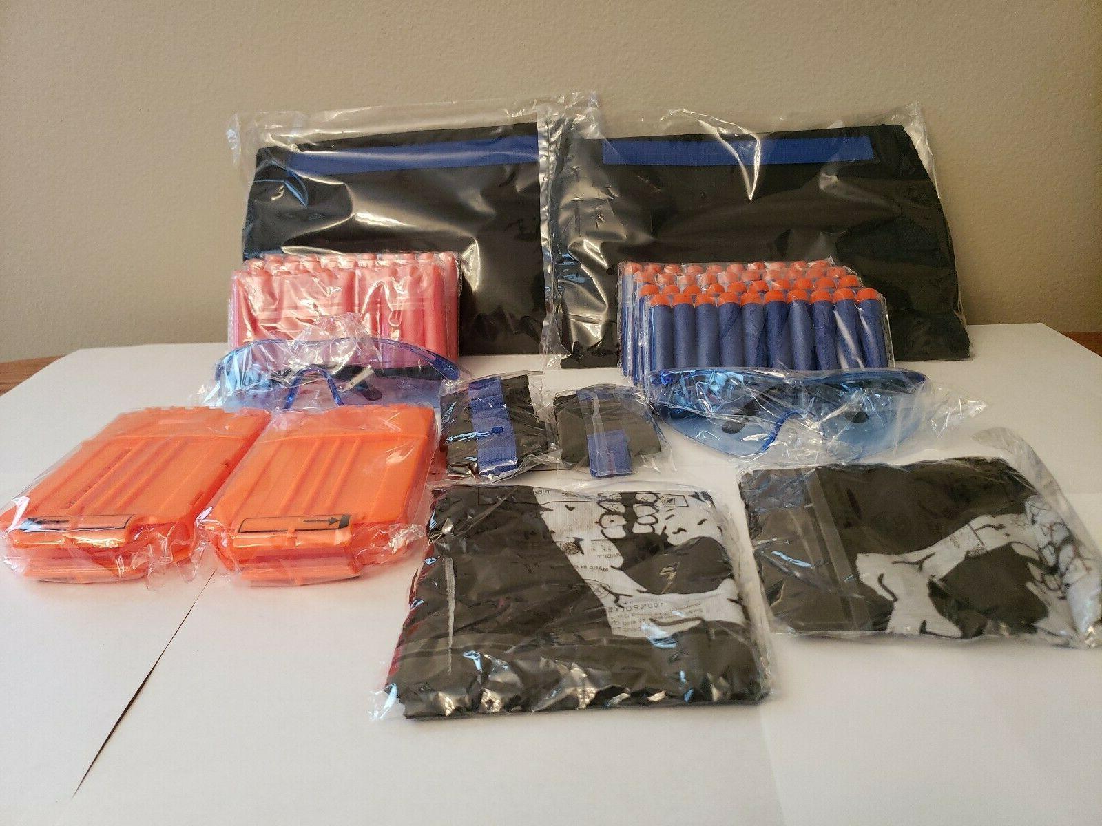 lot 2 tactical vest kit for nerf