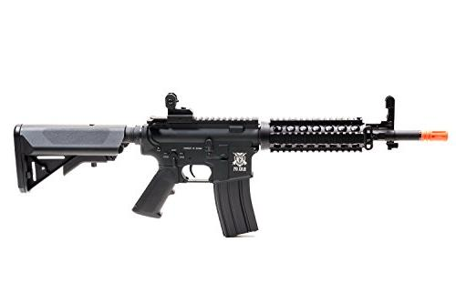 Black Ops Airsoft Rifle Electric Fully Gun - Upgradeable Gearbox and Internals - .20 Ammo