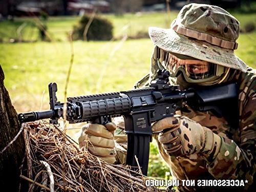 Black Diamondback Airsoft AEG - Electric Automatic Gun Upgradeable and