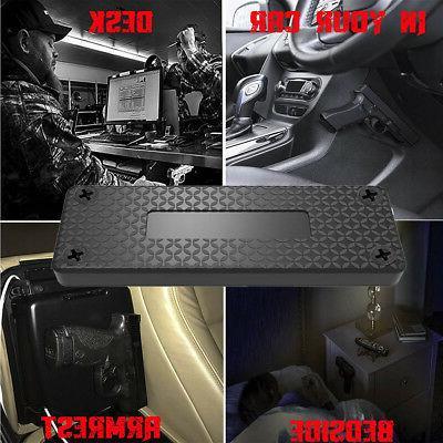 Magnet Concealed Pistol Holder Mount under table desk Packs