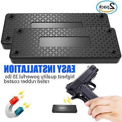 Magnet Concealed Pistol desk 35lb 2