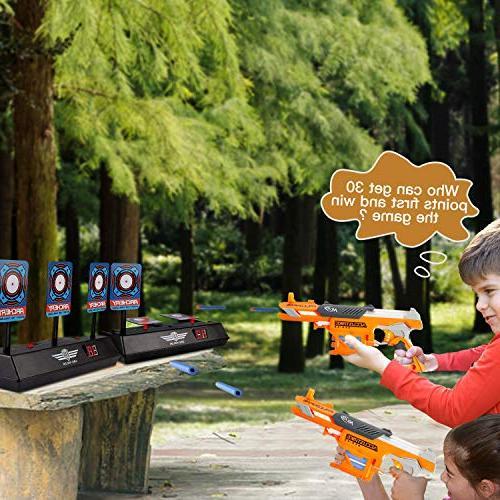 MASCARRY Scoring Reset Digital for Nerf Guns Elite/Mega/Rival Pcs 2 Wrist