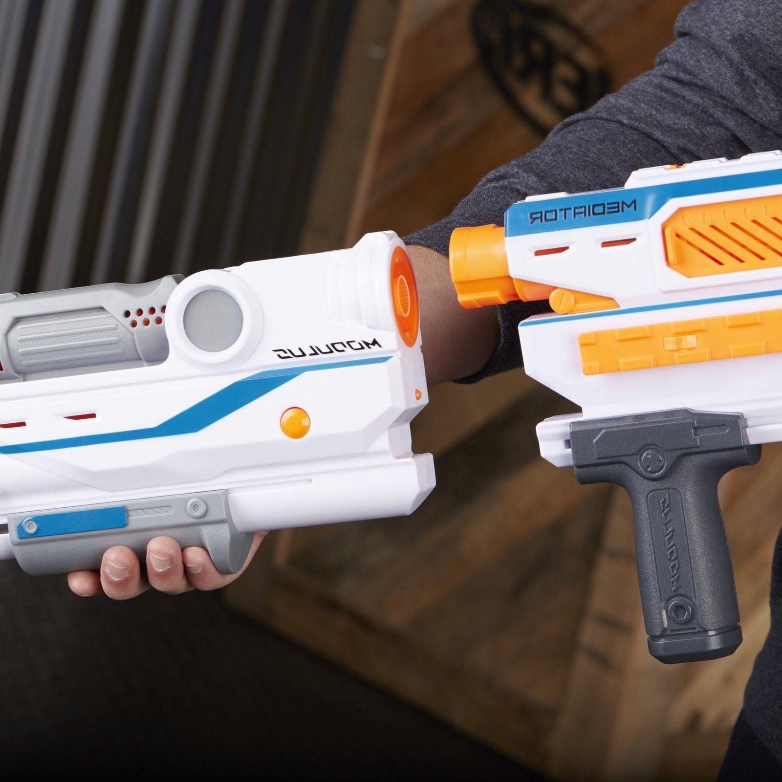 Nerf Modulus Mediator Series Strike Blaster Gun Darts Kids Toy Fast Shipp