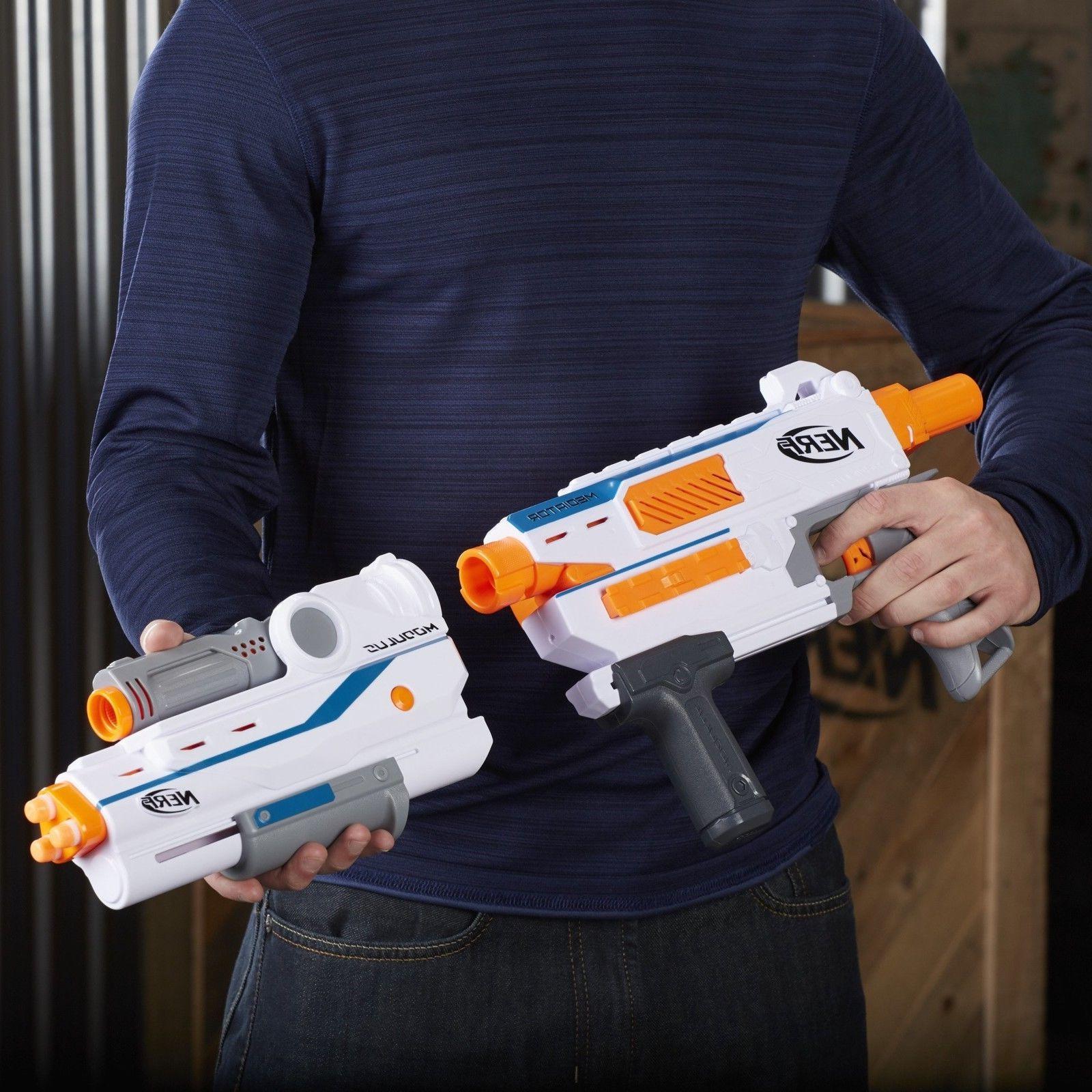 Nerf Modulus Mediator Elite Series Strike Gun Darts