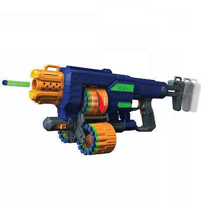 motorized blaster foam dart gun for boys