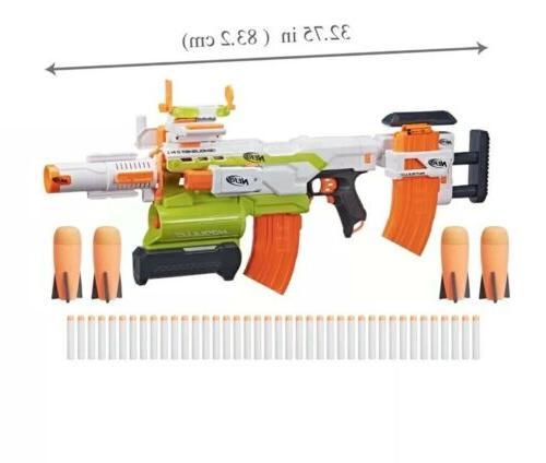 NERF ECS-10 Blaster! New!
