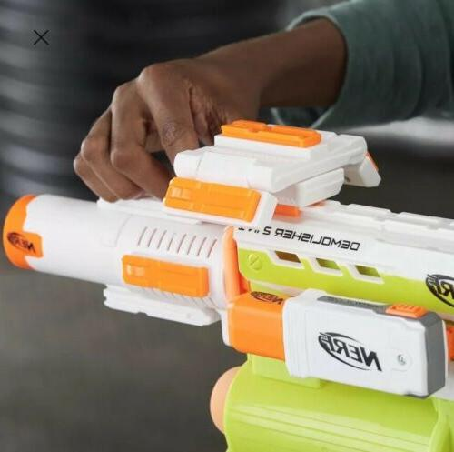 NERF N-strike ECS-10 Blaster!