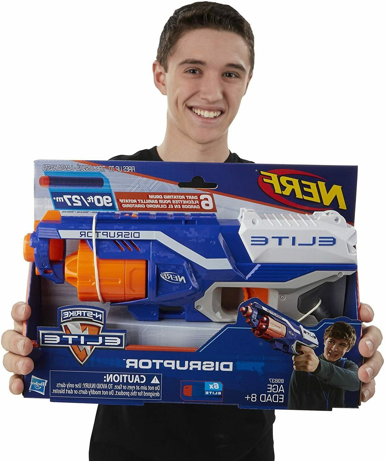 Nerf N-Strike Gun Elite Blaster Long Gift Kids