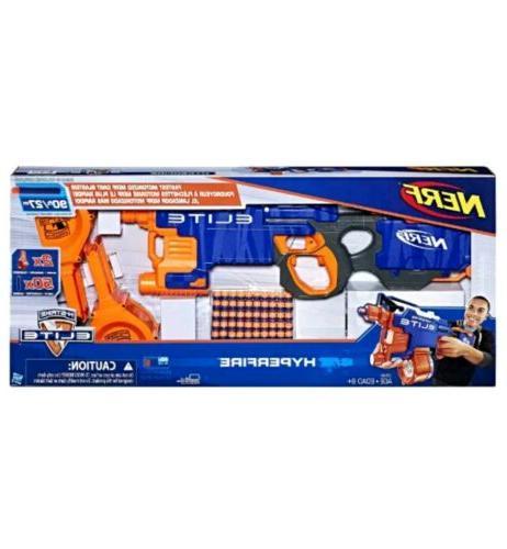 Nerf HyperFire Blaster Toy Prime Darts NIB
