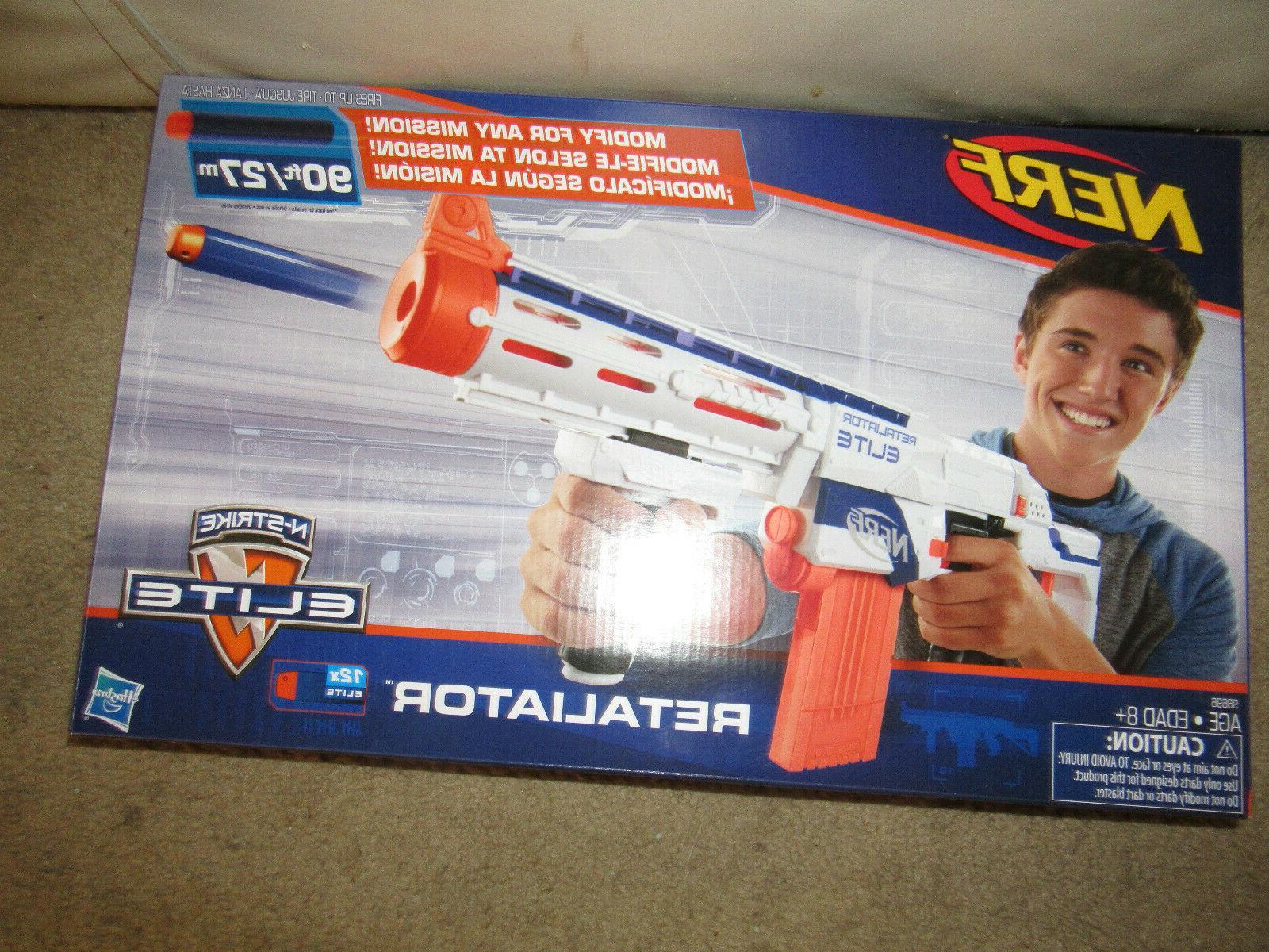 n strike elite retaliator blaster