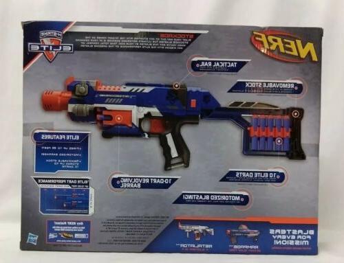 Nerf N-Strike Stockade Blaster 10 Removable Stock Tactical