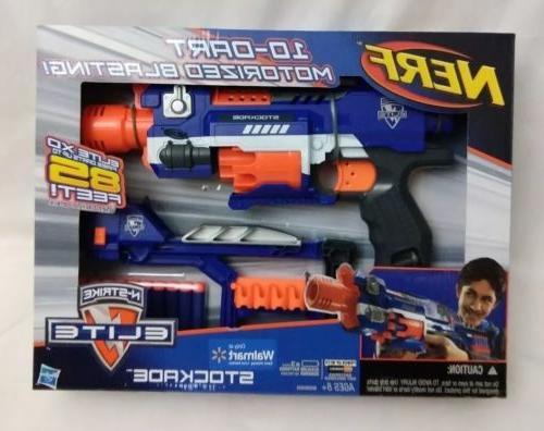 n strike elite stockade blaster 10 dart