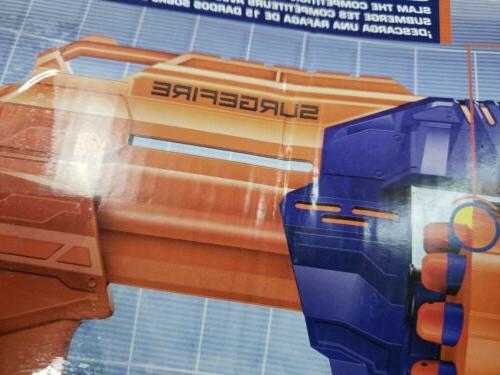 NERF Elite Surgefire Blaster OPEN BOX