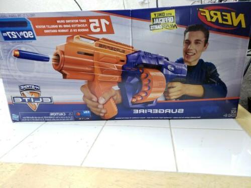 n strike elite surgefire blaster rotating drum
