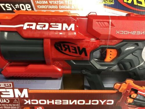 Nerf N-Strike Mega CycloneShock Blaster New Free