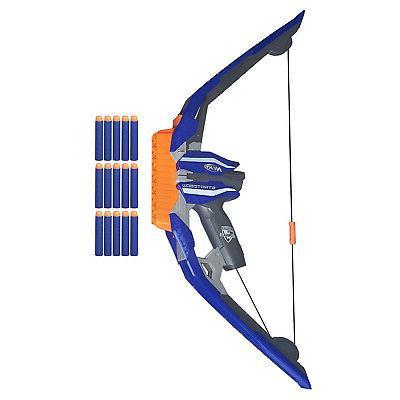 Nerf N-Strike StratoBow Bow Fast Single Action Toy Gun Blast