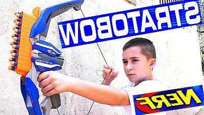 Nerf N-Strike StratoBow Fast Gun Foam 15
