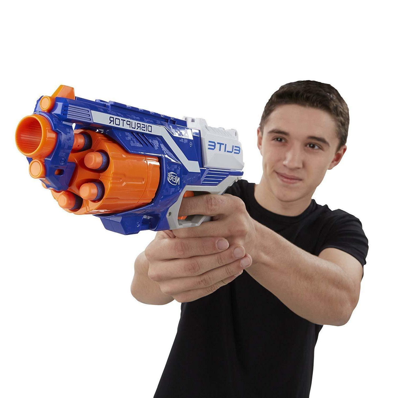 Nerf Elite Dart Disruptor Gun Toy Darts