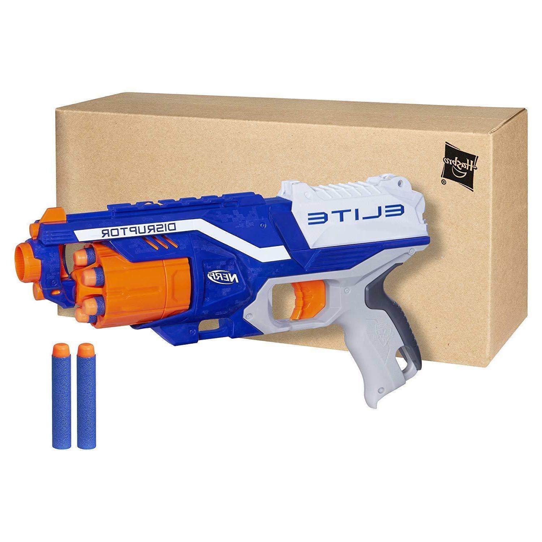 Nerf Gun N-Strike Darts pistols Toy Disruptor Blasters Elite