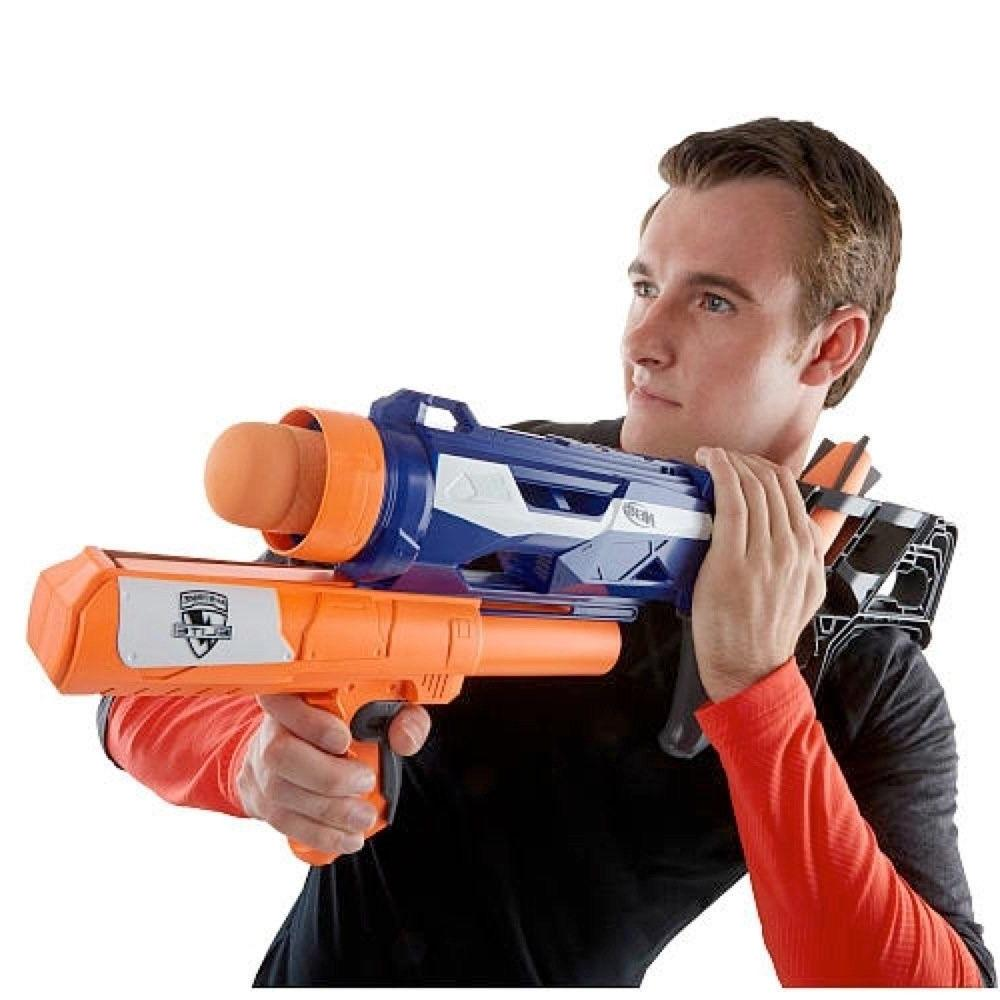 NERF THUNDERBLAST LAUNCHER SOFT BLASTER GUN