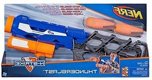 n strike thunderblast missile launcher toy soft