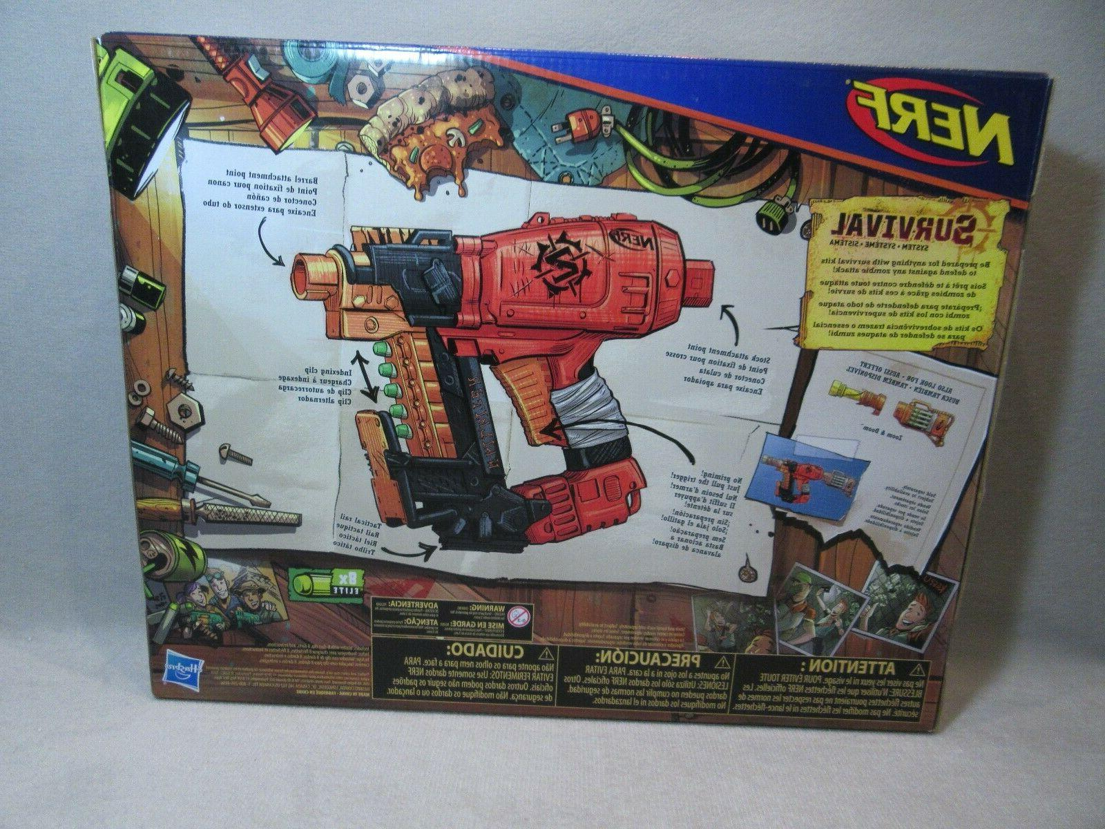 For Boys Zombie Strike Nerfblaster