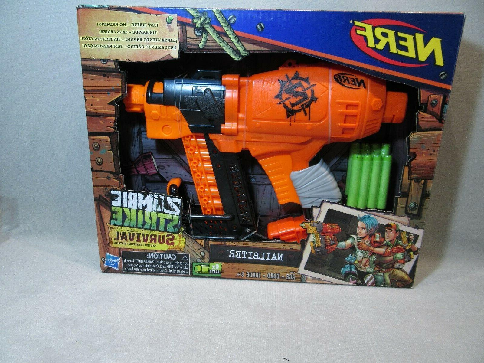 nailbiter gun for boys girls zombie strike
