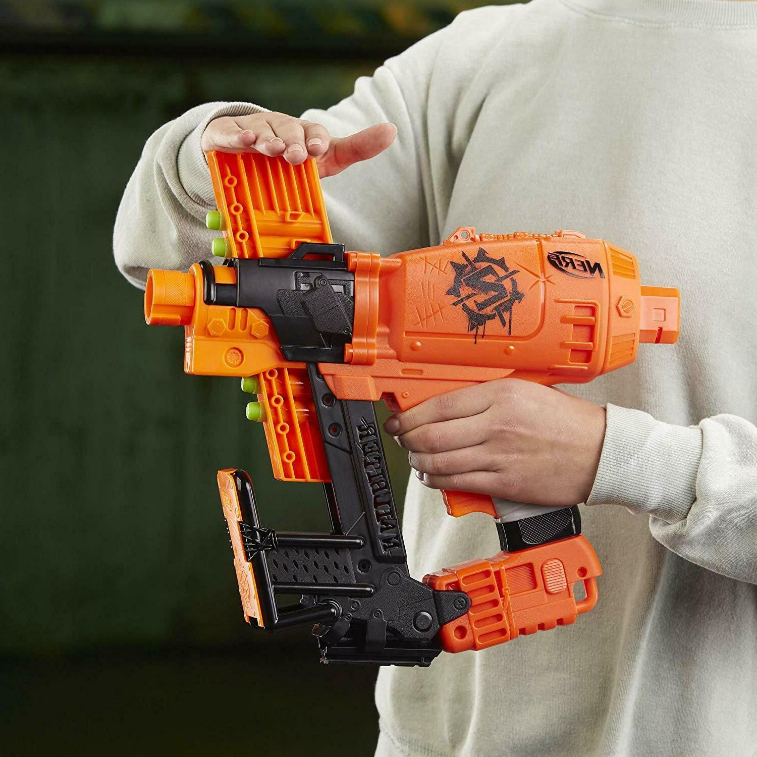 Nerf Nailbiter For Boys Nailbiter Gun Blaster For