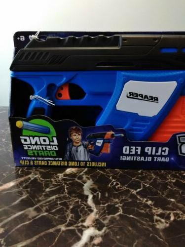 Nerf gun for Air Warriors Reaper Dart Blaster kids fun. B safe