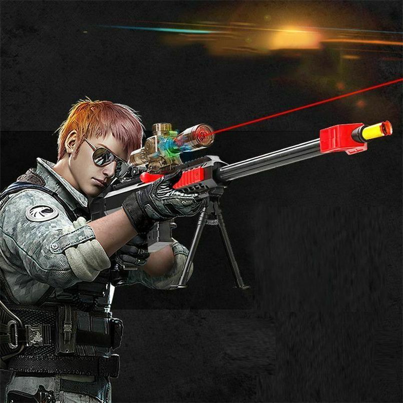 Nerf Gun N Gun Water Bullets Shooting Rifle Military Sniper