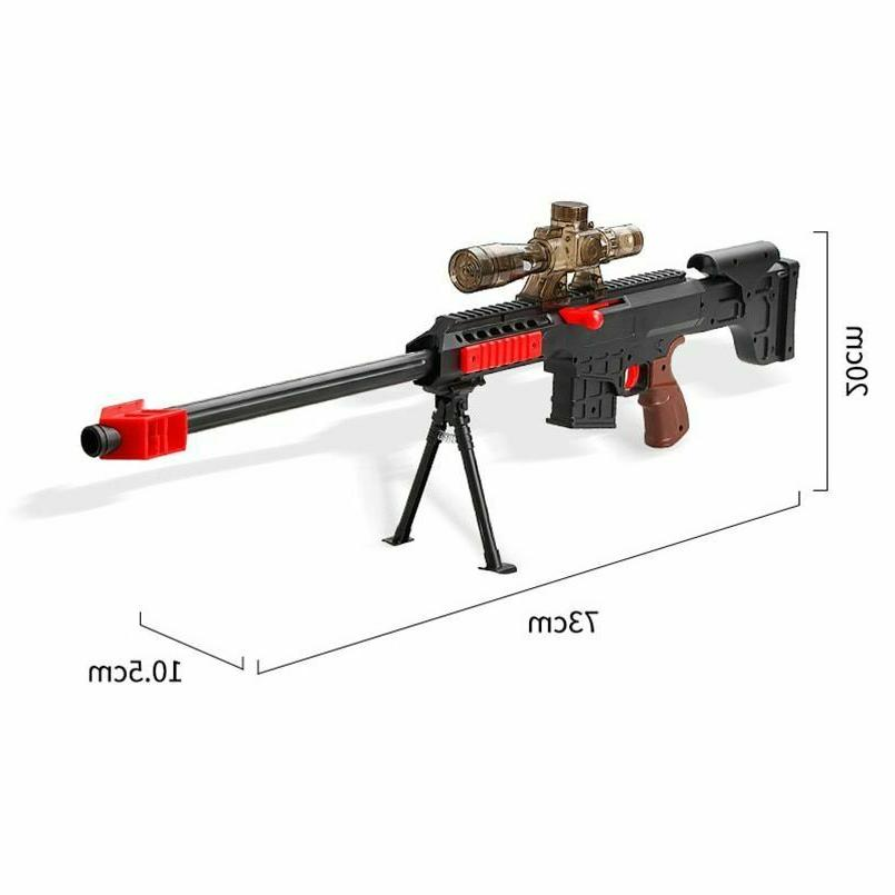 Nerf Gun N Gun Plastic Soft Bullets Shooting Rifle Military Sniper