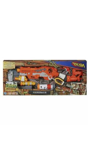Nerf Gun New Zombie Strike Scravenger Survival Toy Nerf