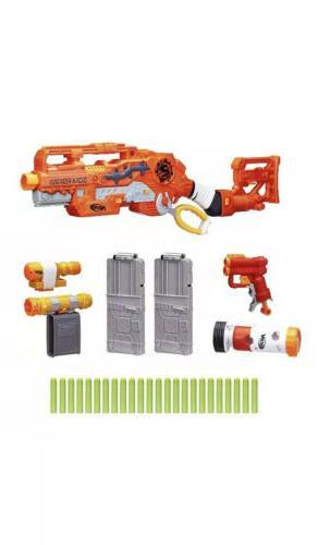 Nerf Gun New Zombie Strike Scravenger System Toy Blaster