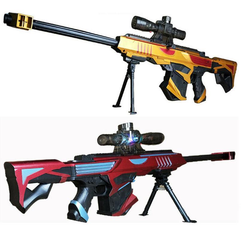 Nerf Gun Soft Bullet Military Sniper Kids Gift