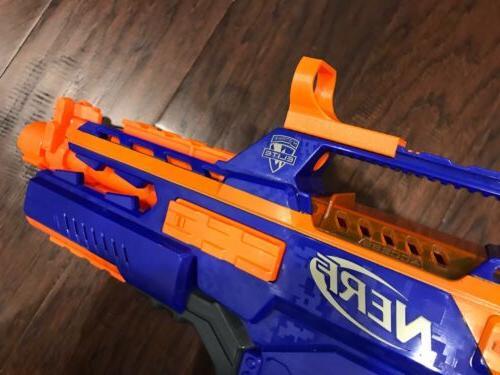 nerf gun tactical red dot reflex sight