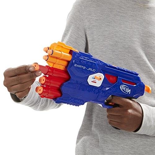 Nerf DualStrike Blaster