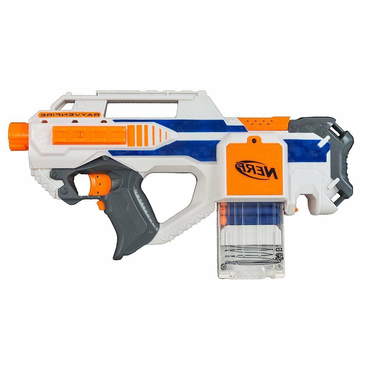 Nerf N-Strike Elite Rayvenfire Rayven Fire Gun Raven Foam Blaster Bull Pup Gun