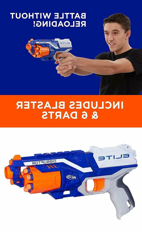 Nerf Strike Elite Blaster Dart Gun Blasters Kids Darts