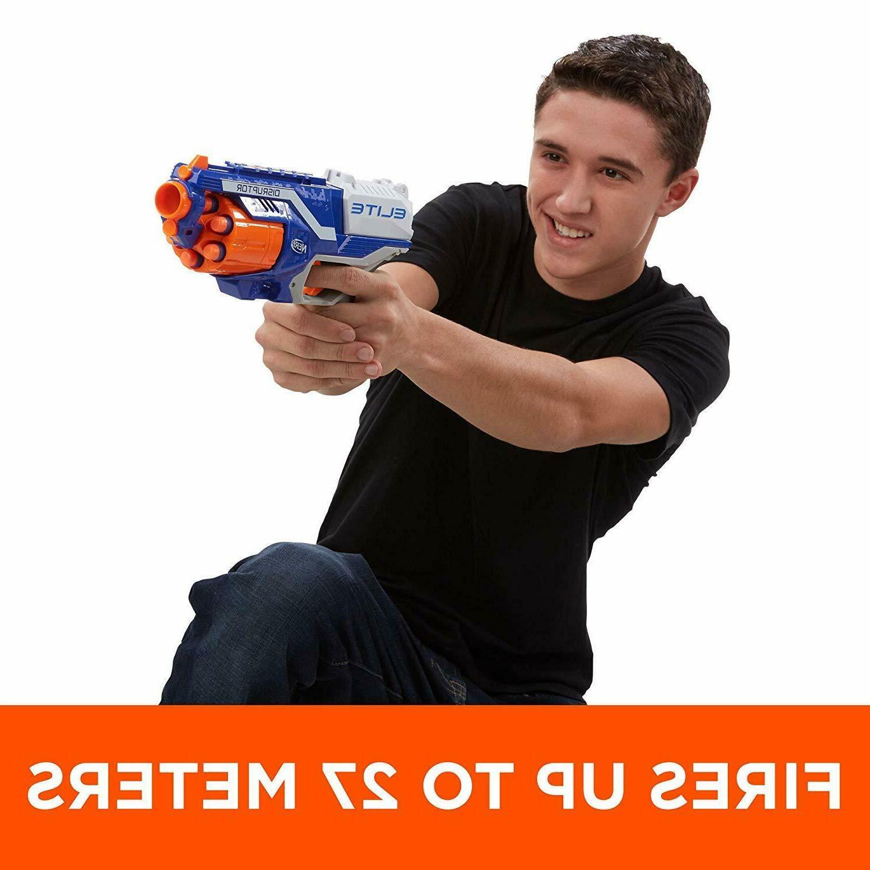 Nerf Elite Blaster Gun Toy Blasters Kids Darts